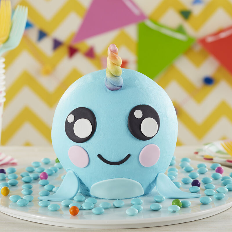 Magical Narwhal Cake image number 0