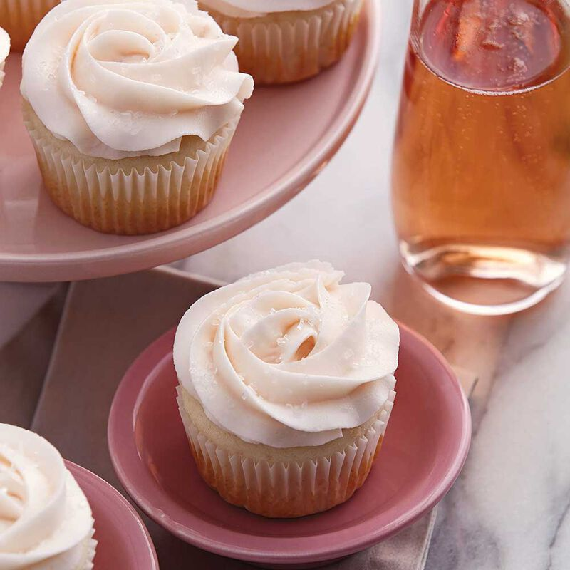 Rose Champagne Cupcakes image number 0