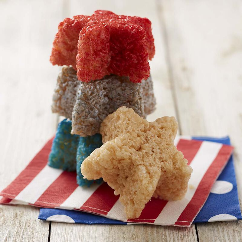Wilton Star-Spangled Crisped Rice Cereal Treats image number 0