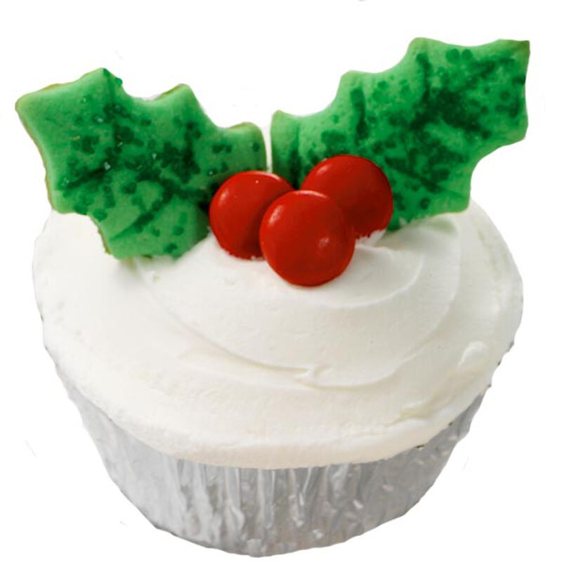 Happy Holly Days Cupcakes image number 0