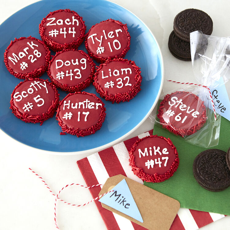 Sports Candy Dipped Oreos