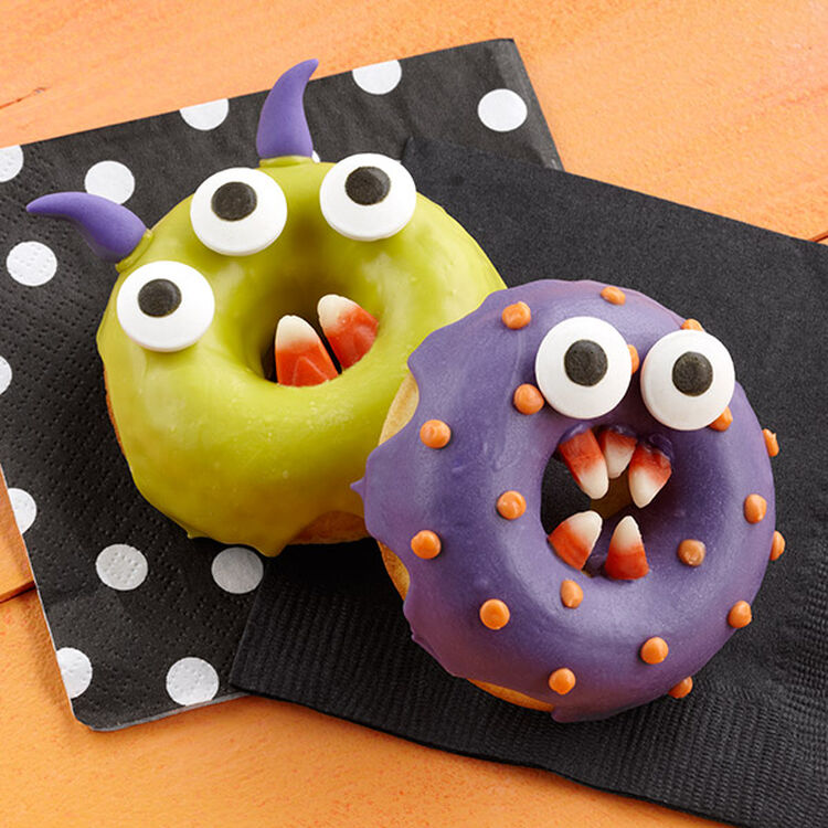 Halloween Monster Chomper Donuts