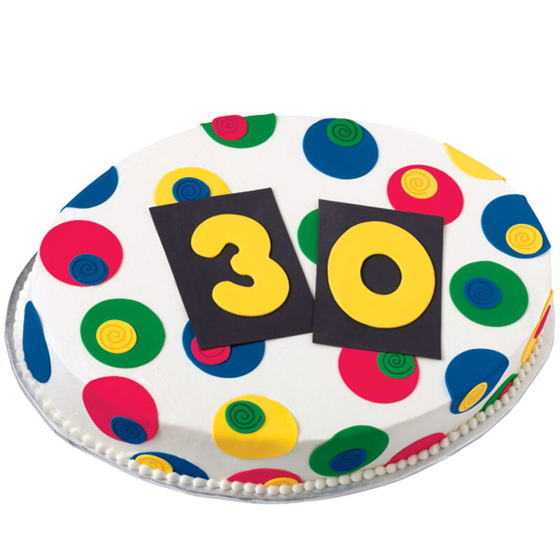 "The ""Big 3-0"" Birthday Cake image number 0"