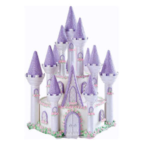 Princess Cake - Purple Princess Castle Cake