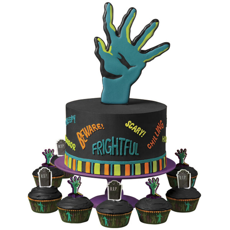 Horror Hand! Cake and Cupcakes image number 0