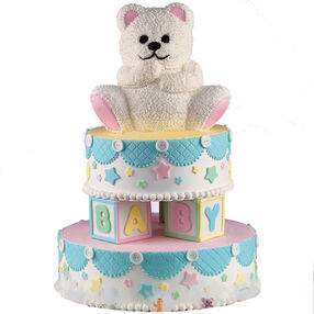 How To Decorate A Stand Up Teddy Bear Cake