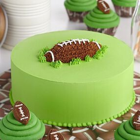 First Down and Fun Football Cake