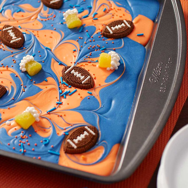 Wilton Football Candy Melts Candy Bark image number 0