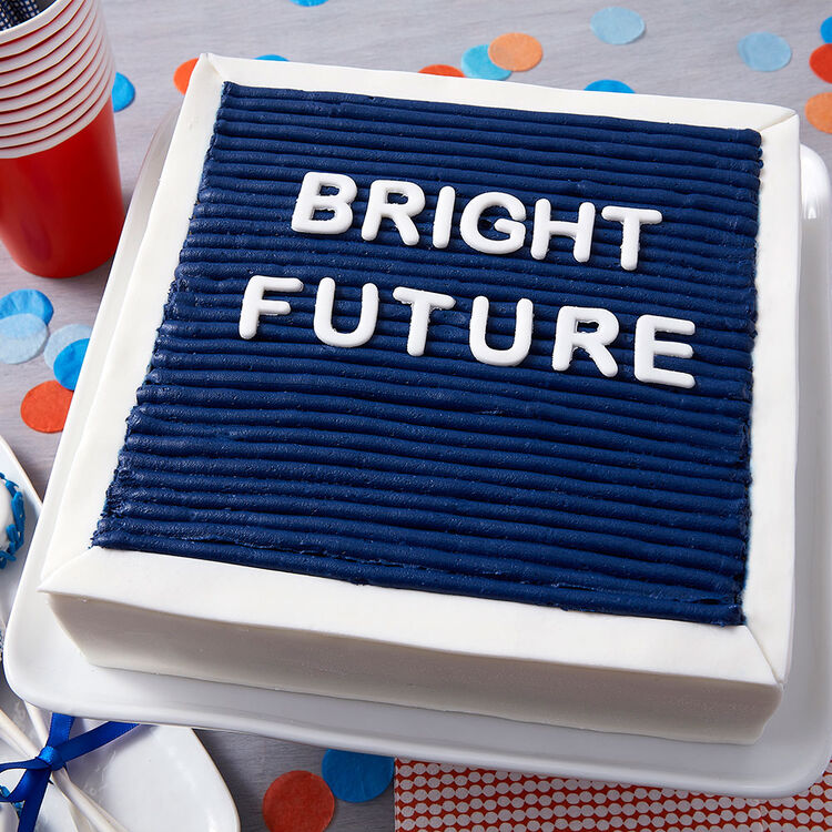 Bright Future Felt Board Cake