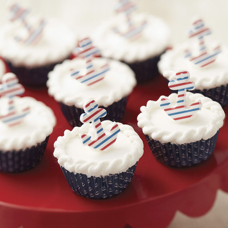 Wilton Nautical Nibbles Mini Beach Cupcakes image number 0