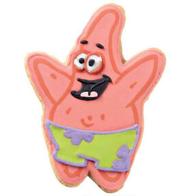 Patrick Party Pants Cookies