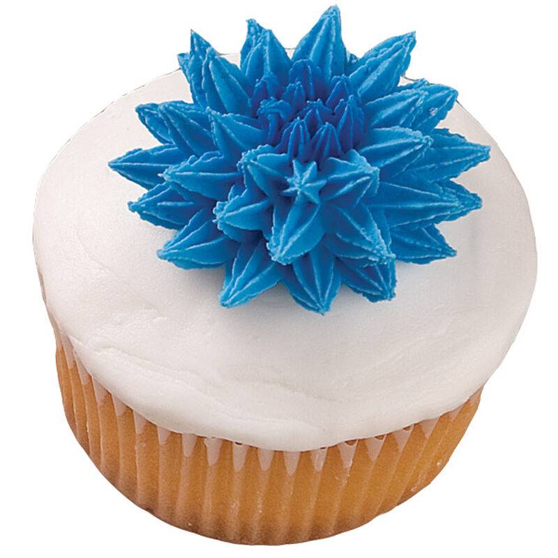Pompom Flower Extravaganza Cupcake image number 0