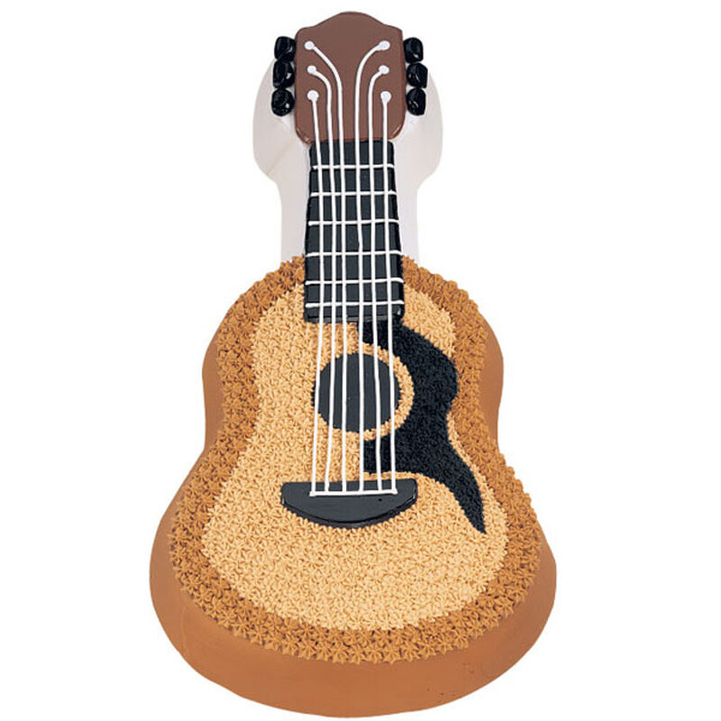 Acoustic Guitar Cake  image number 0