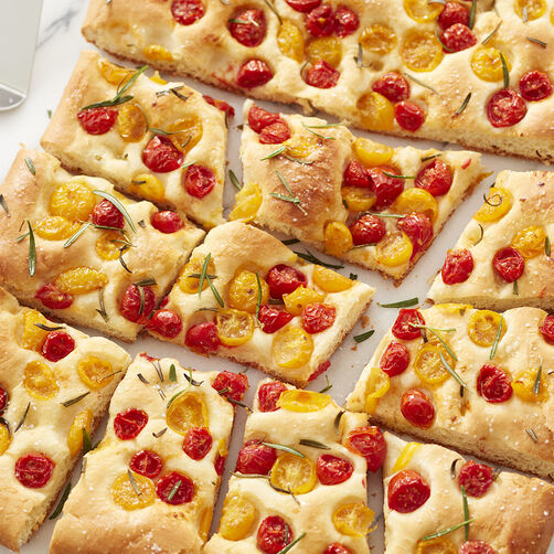 Tomato And Rosemary Focaccia Wilton