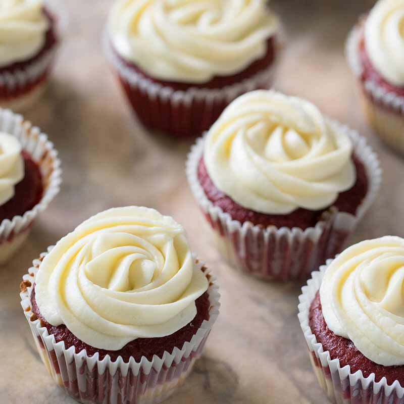 red velvet cheesecake cupcakes image number 2