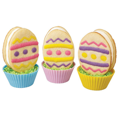 Easter Egg Ice Cream Sandwich Cookies