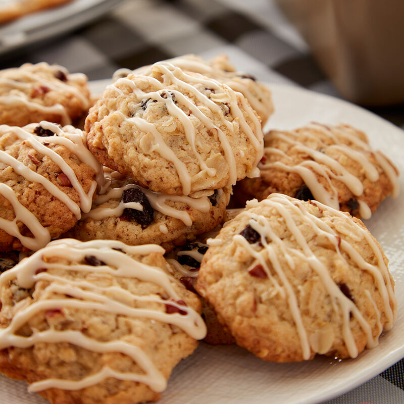 Maple and Brown Sugar Oatmeal Cookies Recipe image number 1