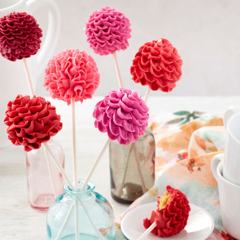 Blooming Floral Cake Pops Video