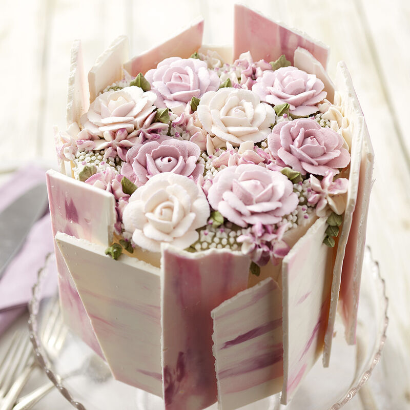 Rosy Mother S Day Cake Wilton