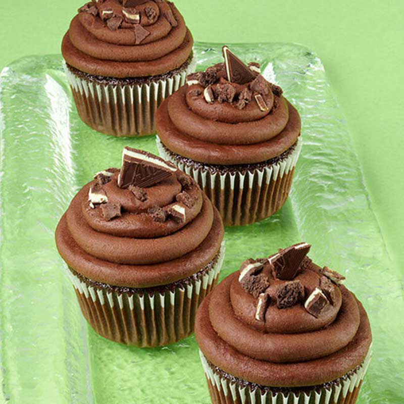 Grasshopper Cupcakes image number 0