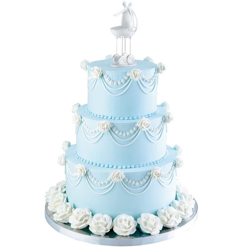 Tiers of Joy Baby Shower Cake image number 0