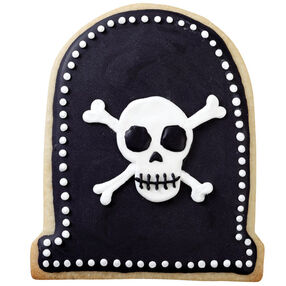 Skulls and Crossbones Cookies