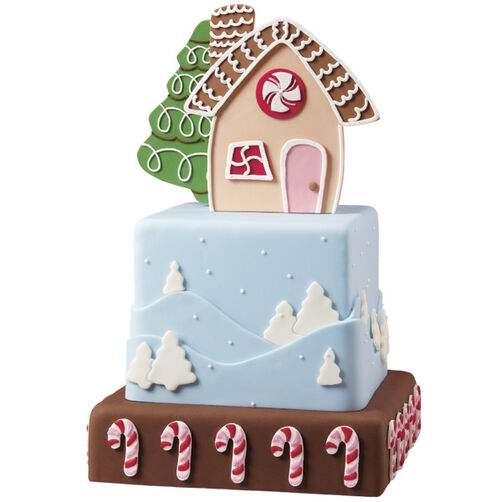 The Magic of the Season Christmas Cake