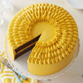 Easy Yellow Buttercream Cake