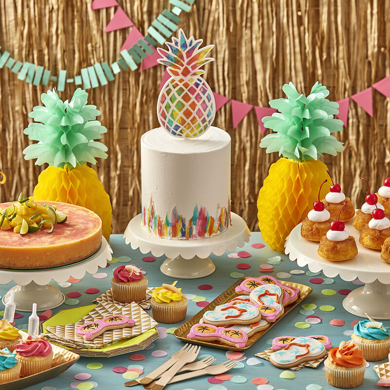 Sensational Pineapple Upside Down Cupcakes Wilton Funny Birthday Cards Online Bapapcheapnameinfo