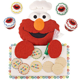 Elmo's the Birthday Baker Cake