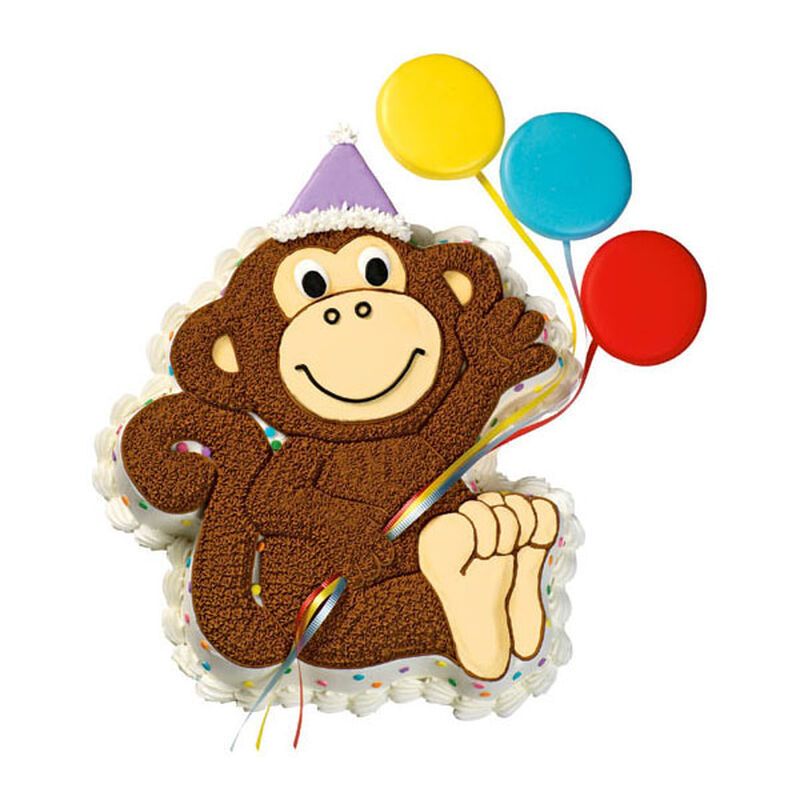 Party Primate Cake image number 0