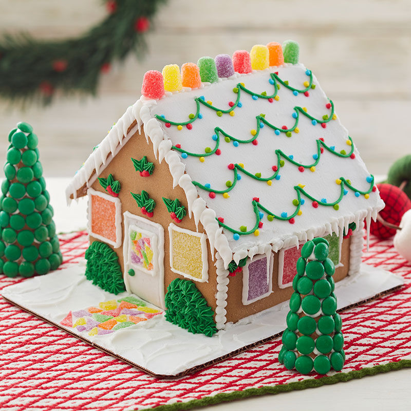 How to Make Bushes on a Gingerbread House image number 1