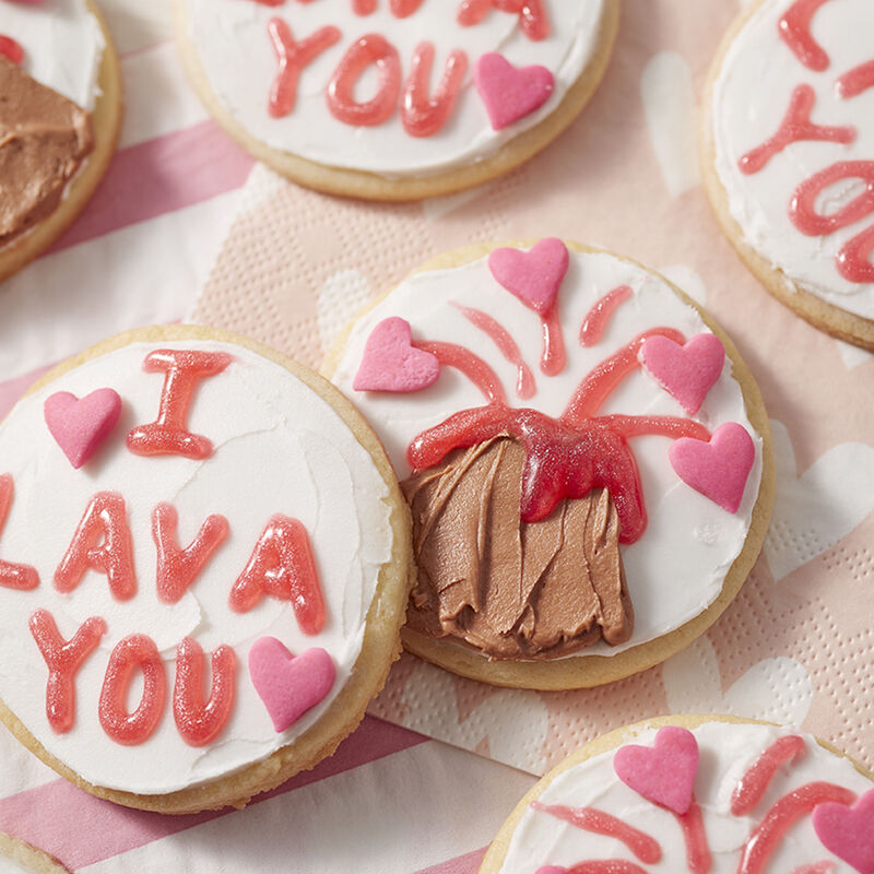 I Lava You Sugar Cookies image number 1