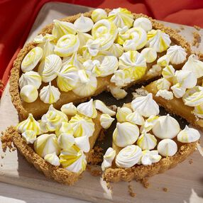 Lemon Meringue Cookie Tart Recipe