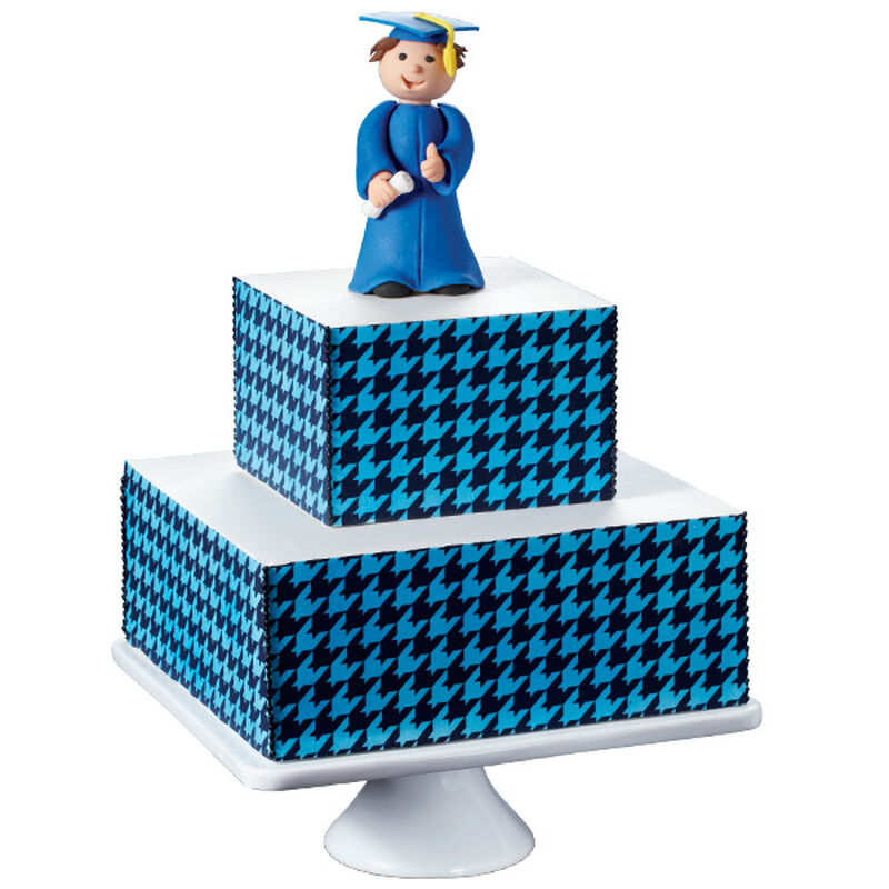 Step Up to Success Graduation Cake image number 0