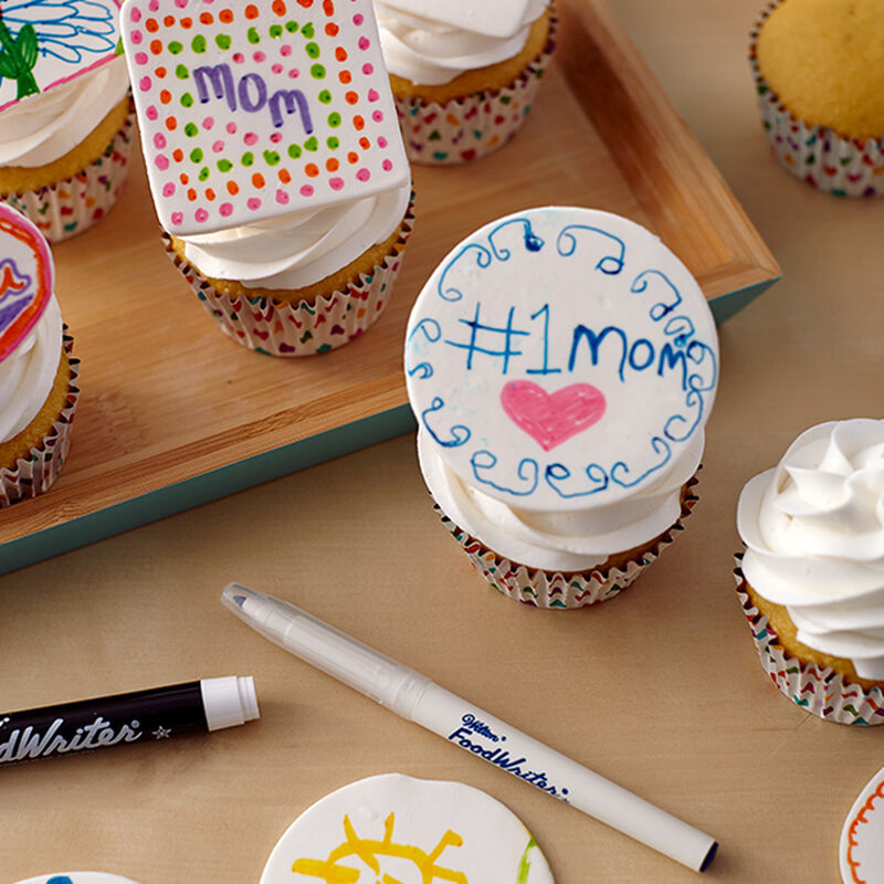 Mother's Day Message Plaque Cupcakes image number 0