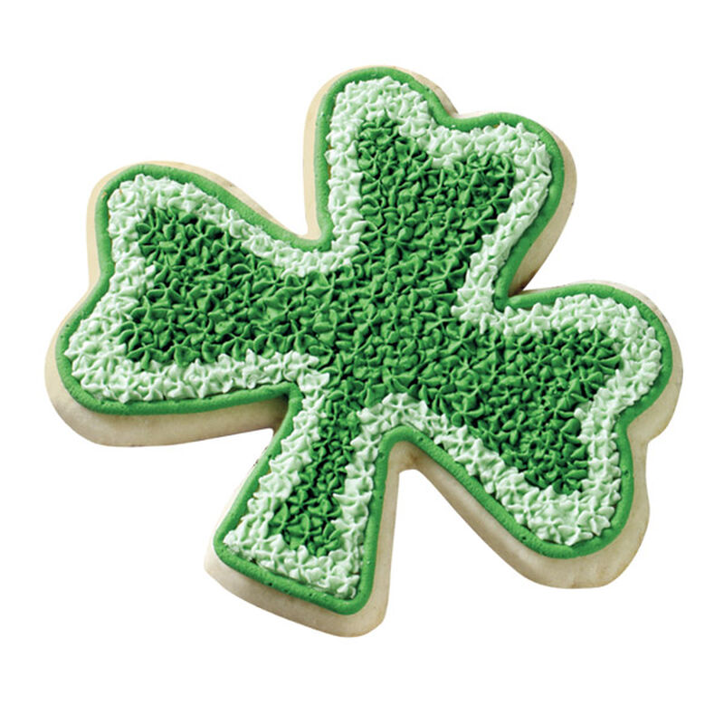 Two-Tone Shamrock Cookie image number 0