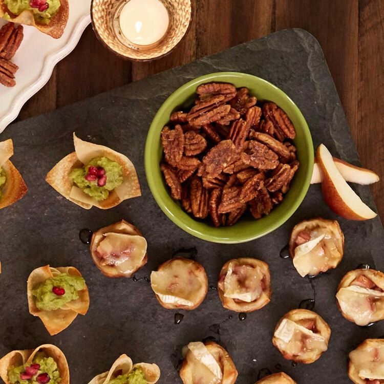 Toasted Sweet and Spicy Pecans