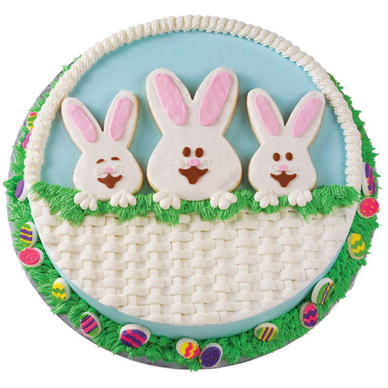 Peeker Cottontails Cake image number 0