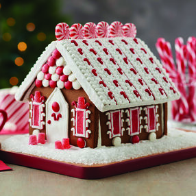 Minty Memories Gingerbread House