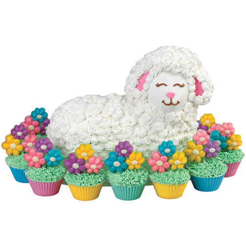 Lounging Lamb Cake