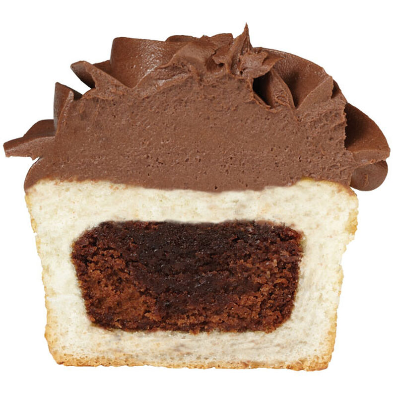 How to Add a Brownie Inside a Cupcake image number 0