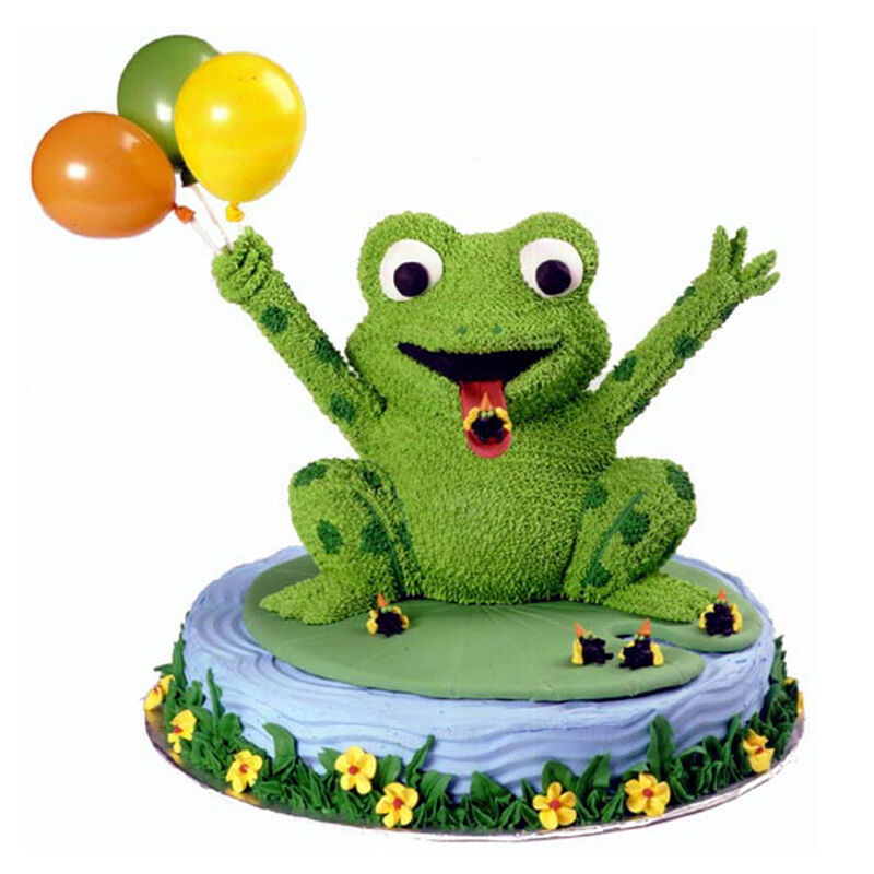 Lucky Leap Frog Cake image number 0