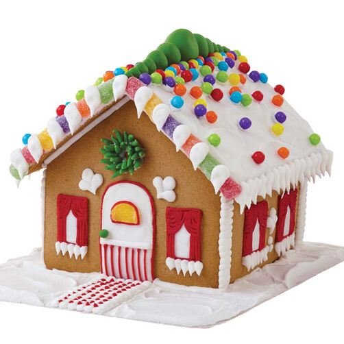 Sweet and Petite Gingerbread House #2