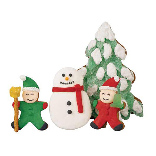 Polar Play Kids and Snowman Gingerbread Cookies