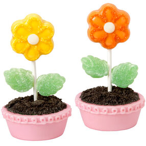 Cake Ball Flowers For Mom