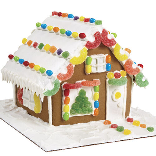 Quick and Quaint Gingerbread Cottage