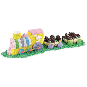 Easter Egg-spress Cake