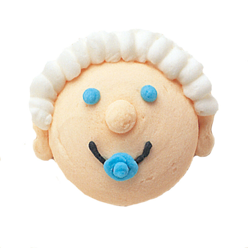 Figure Piped Baby Heads image number 0