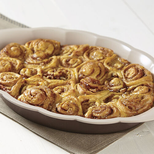 Orange Walnut Sticky Buns